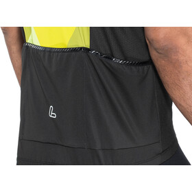 Löffler Metric Bike Jersey Full-Zip Men zitrone